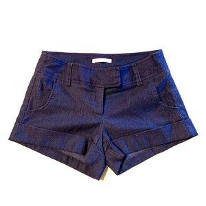 Pants - Navy blue short shorts